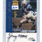 LENNY MOORE 1999 Fleer Sports Illustrated SI AUTOGRAPH Auto PENN STATE