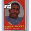 LENNY MOORE 1958 Topps #10 Colts PENN STATE