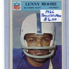 LENNY MOORE 1966 Philadelphia #21 Colts PENN STATE