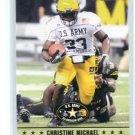 CHRISTINE MICHAEL 2009 Razor Army All-American Bowl #38 TEXAS A&M Seahawks DALLAS Cowboys