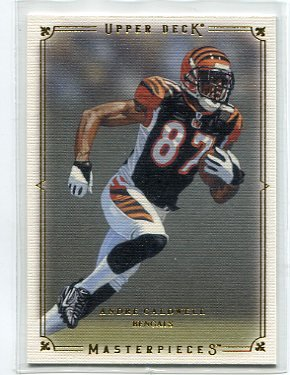ANDRE CALDWELL 2008 UD Masterpieces ROOKIE Bengals