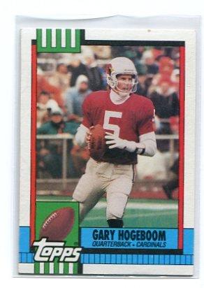 GARY HOGEBOOM 1990 Topps #433 CBS Survivor GUATAMALA Arizona Cardinals QB