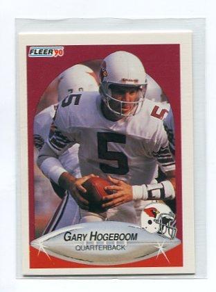 GARY HOGEBOOM 1990 Fleer #355 CBS Survivor GUATAMALA Arizona Cardinals QB