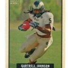 GARTRELL JOHNSON 2009 Topps Magic ROOKIE #20 NY Giants