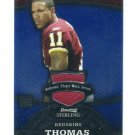 DEVIN THOMAS 2008 Bowman Sterling JERSEY ROOKIE Michigan State Spartans REDSKINS NY Giants