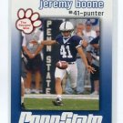JEREMY BOONE 2009 Penn State Second Mile KICKER