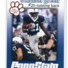 STEPHFON GREEN 2009 Penn State Second Mile DETROIT Lions RB
