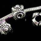 OVAL EYE Silver Spacer fits Pandora & Troll P301