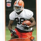 JAMES DAVIS 2009 Topps #416 ROOKIE Browns CLEMSON