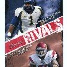 WORRELL WILLIAMS & REY MAUALUGA 2009 Bowman Rivals #R10 ROOKIE USC Trojans & Cal Bears