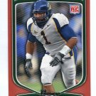 WORRELL WILLIAMS 2009 Bowman ORANGE SP #220 ROOKIE Cal Bears