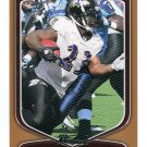 WILLIS McGAHEE 2009 Bowman BRONZE SP #43 Ravens MIAMI CANES #d/99