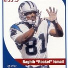 RAGHIB ROCKET ISMAIL 2005 Big 33 PA High School card NOTRE DAME Fighting Irish