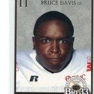 BRUCE DAVIS 2007 Big 33 High School card IOWA Hawkeyes LB
