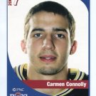 CARMEN CONNOLLY 2005 Big 33 Pennsylvania High School card WEST VIRGINIA Mountaineers