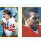 TODD BLACKLEDGE 1985 Topps Sticker #58 PENN STATE Rookie KC CHIEFS QB tough find!