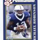 MICHAEL ROBINSON 2005 Penn State Second Mile College card PRE-ROOKIE 49ers Seahawks QB