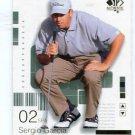 SERGIO GARCIA 2002 SP Authentic #2 PGA