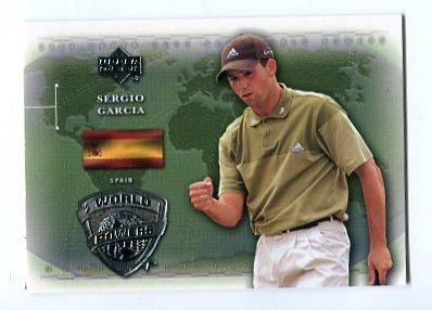 SERGIO GARCIA 2004 Upper Deck UD World Powers #96 PGA