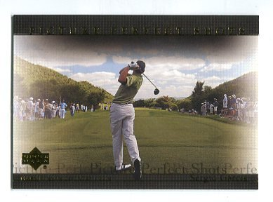 SERGIO GARCIA 2004 Upper Deck UD Picture Perfect Shots #72 PGA