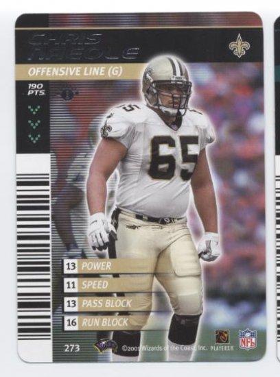 CHRIS NAEOLE 2001 NFL Showdown #273 Saints HAWAII