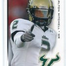 CARLTON MITCHELL 2010 Sage Hit #2 ROOKIE USF South Florida Bulls BROWNS WR