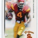 JOE McKNIGHT 2010 Sage Hit #4 ROOKIE USC Trojans NEW YORK NY Jets RB