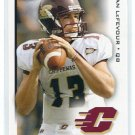 DAN leFEVOUR 2010 Sage Hit #31 ROOKIE Central Michigan BENGALS QB