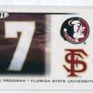 CHRISTIAN PONDER 2010 Sage Hit #37 THE PROGRAM * Florida State Seminoles VIKINGS QB