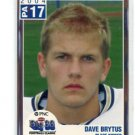 DAVE BRYTUS 2004 Big 33 Pennsylvania High School card PURDUE BOILERMAKERS Punter