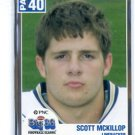 SCOTT McKILLOP 2004 Big 33 Pennsylvania High School card PITT PANTHERS 49ers