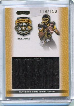 PAUL JONES 2010 Razor JERSEY Penn State Nittany Lions 5-star QB #/150 (Nationally Ranked #3)