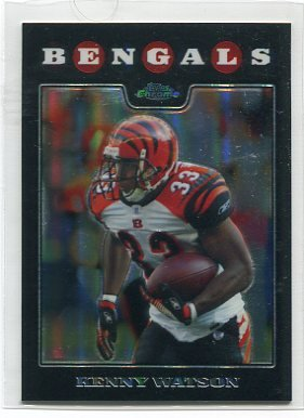 KENNY WATSON 2008 Topps Chrome REFRACTOR #TC45 PENN STATE Bengals