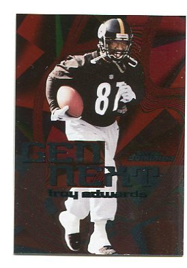 TROY EDWARDS 1999 Skybox Dominion Gen Next ROOKIE INSERT #GN-6 Steelers