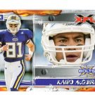 KAIPO McGUIRE 2001 Topps XFL #10 ROOKIE HAWAII BYU Cougars