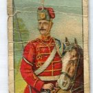 LIFE GUARDS HUSSARS, PRUSIA 1910 Military Series T79 Tobacco Card