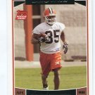 JEROME HARRISON 2006 Topps #376 ROOKIE Cleveland Browns WASHINGTON STATE WAZU Cougars