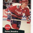 PETER BONDRA 1991 Pro Set #511 Washington Capitals