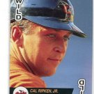 CAL RIPKEN Jr. 1993 Baseball Aces Playing Card WILD Orioles