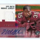 MICHAEL ROBINSON 2006 SPx JERSEY AUTO Rookie #d/1650 Penn State SF 49ers