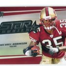 MICHAEL ROBINSON 2006 UD Star Rookies Exclusive Edition #271 ROOKIE Penn State 49ers QB