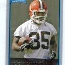 JEROME HARRISON 2006 Bowman #124 ROOKIE Cleveland Browns WASHINGTON STATE WAZU Cougars