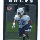 PHILLIP WHEELER 2008 Topps Chrome #TC249 ROOKIE Indianapolis Colts GEORGIA TECH