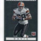 JAMES DAVIS 2009 Topps Platinum #163 ROOKIE Cleveland Browns CLEMSON Tigers
