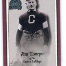 JIM THORPE 2000 Fleer Greats of the Game #81