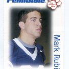 MARK RUBIN 2006 Penn State Second Mile college card RAMS