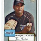 FRANCISCO ROSARIO 2006 Topps 52 #33 ROOKIE