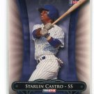STARLIN CASTRO 2010 TriStar Pursuit #126 Cubs