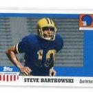 STEVE BARTKOWSKI 2005 Topps All-American Retired Edition #40 Cal Bears QB