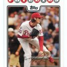 COLE HAMELS 2008 Topps #35 Phillies